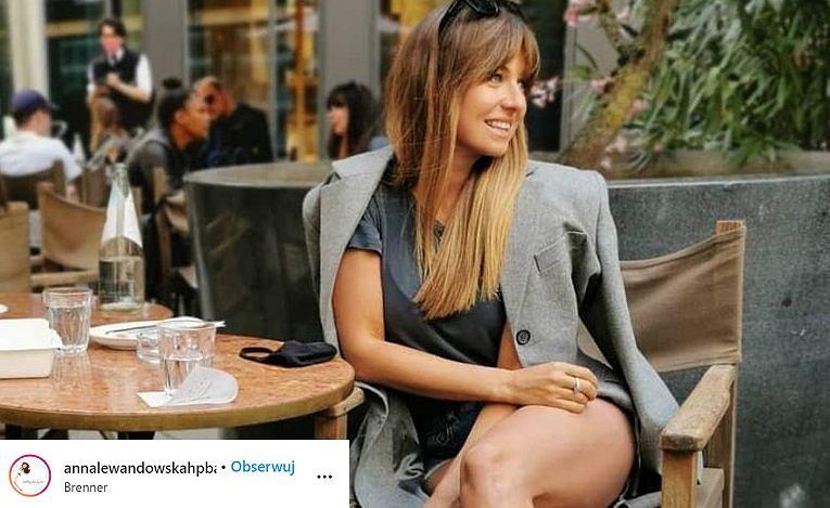 Anna Lewandowska w modnych butach, które podzieliły internautów