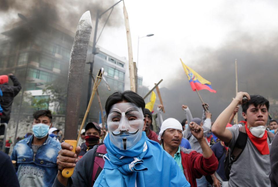 Zamieszki w Ekwadorze, 8.10.2019