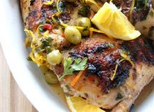 Cytrusowy grillowany kurczak - ugotuj