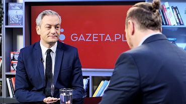 Robert Biedroń był gościem Porannej Rozmowy Gazety.pl