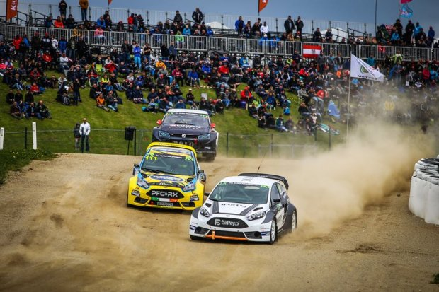 Rallycross. Martin Kaczmarski zadebiutował w mistrzostwach Europy