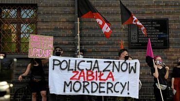Protest we Wrocławiu przeciwko brutalności policji
