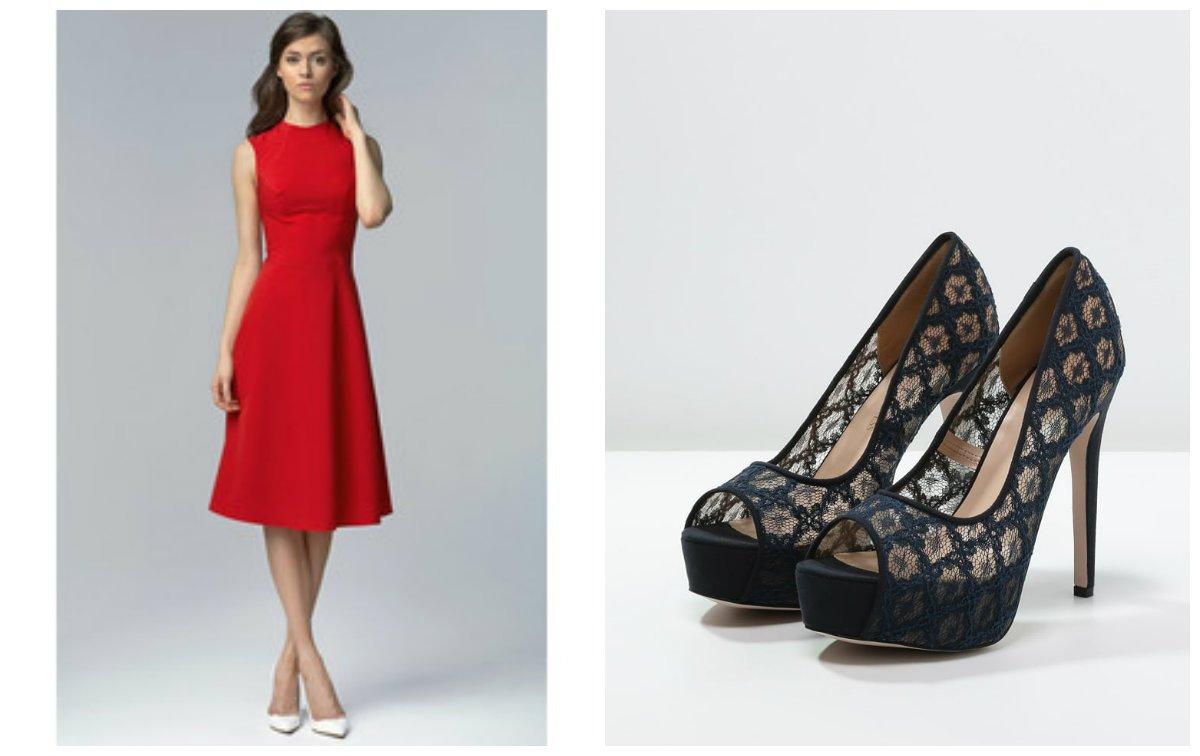 58ce84a90eec07 Dodatki do czerwonej sukienki: jakie wybrać?