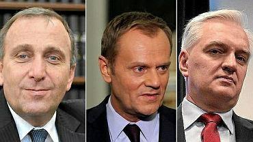 Grzegorz Schetyna, Donald Tusk, Jarosław Gowin