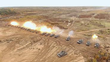 Pokaz siły w wykonaniu czołgistów NATO