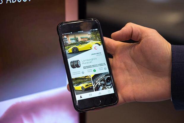 Aplikacja Pirelli
