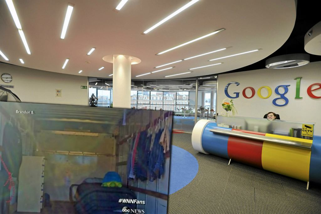 Biuro Google i mieszkanie Brandona