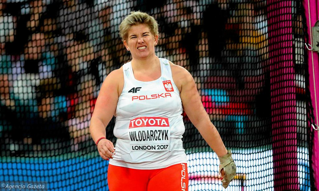 Anita Włodarczyk, rekordzistka świata w rzucie młotem