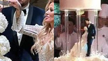 Los pasteles de boda de celebridades más impresionantes