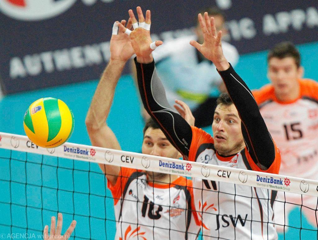 Zbigniew Bartman w meczu Jastrzębski Węgiel - Marek Union-Ivkoni Dupnica 3:0