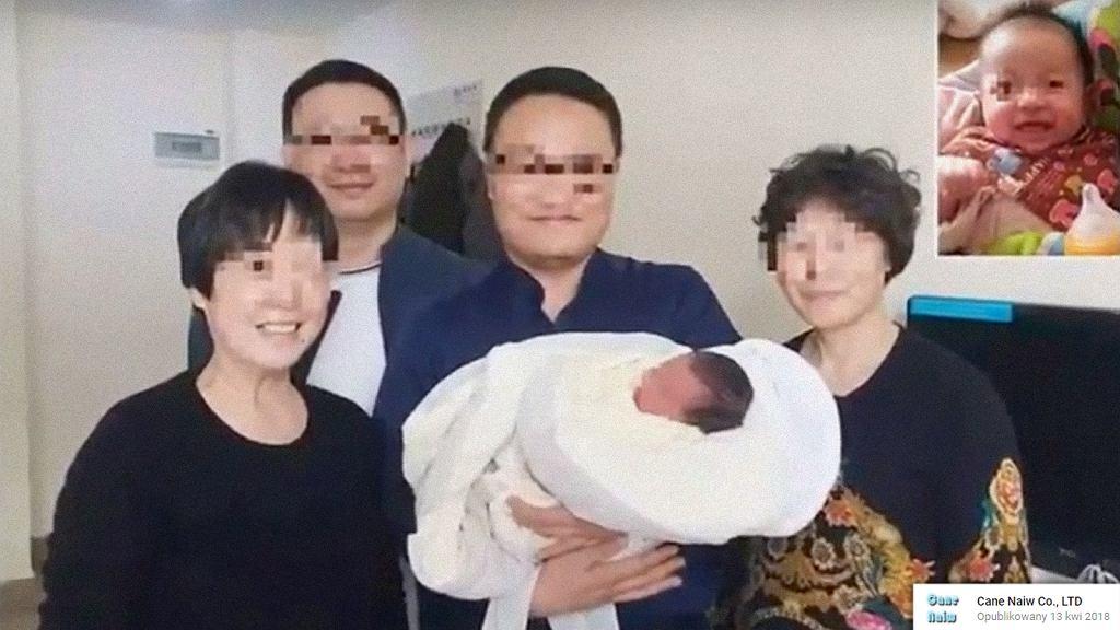 Dziecko przyszło na świat po śmierci rodziców.