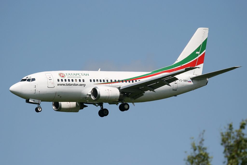 Boeing 737-53A, Tatarstan Airlines
