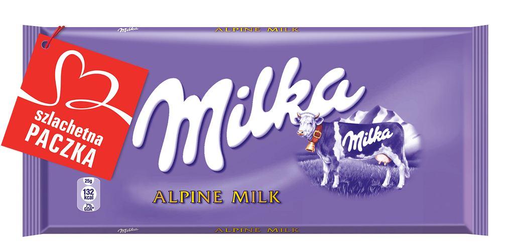 Milka wspiera Szlachetną paczkę