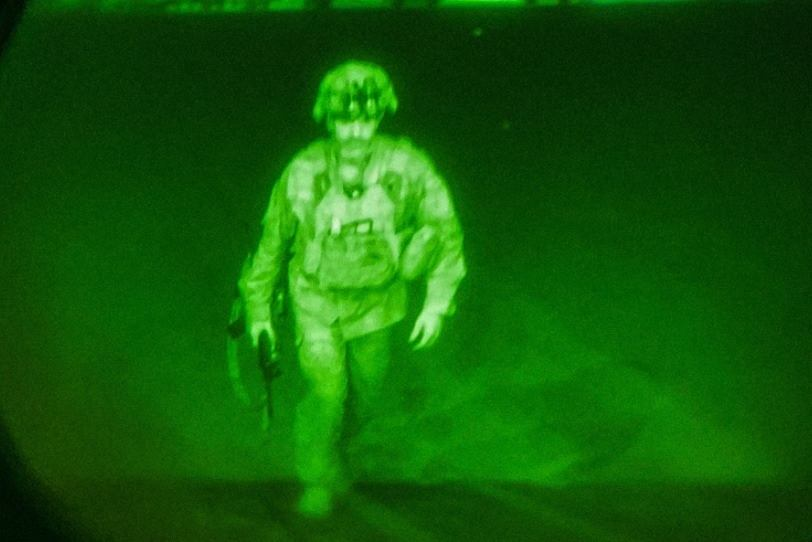 Ostatni amerykański Żołnierz opuszcza Kabul
