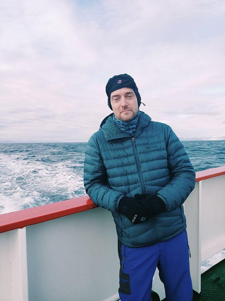 dr Jakub Małecki, glacjolog