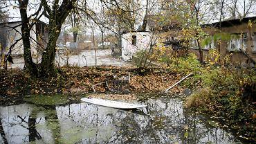 Miejsce, w którym utopili się chlopcy