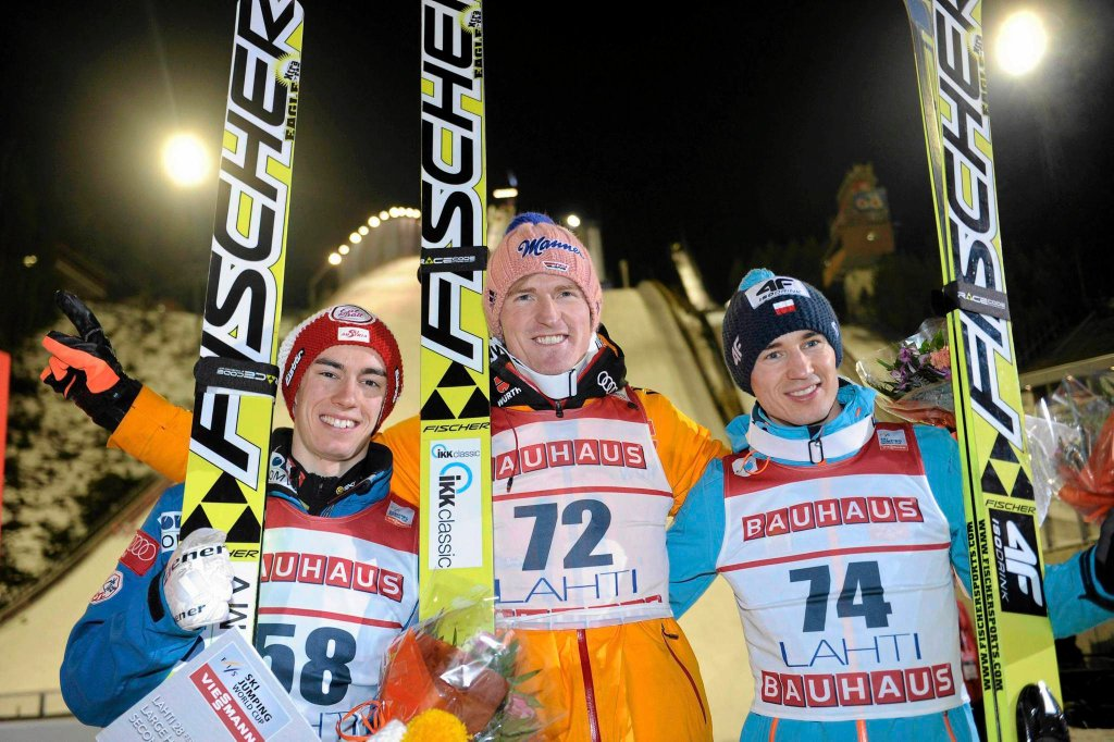 Severin Freund (w środku)