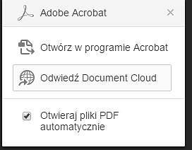 Wtyczka Adobe do przeglądarki Chrome