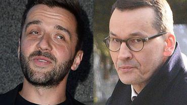 Mateusz Morawiecki i Rafał Szatan
