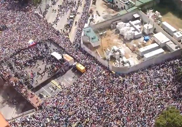 Protest w Caracas
