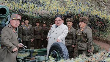 Przywódca Korei Północnej Kim Dzong Un (zdjęcie ilustracyjne)
