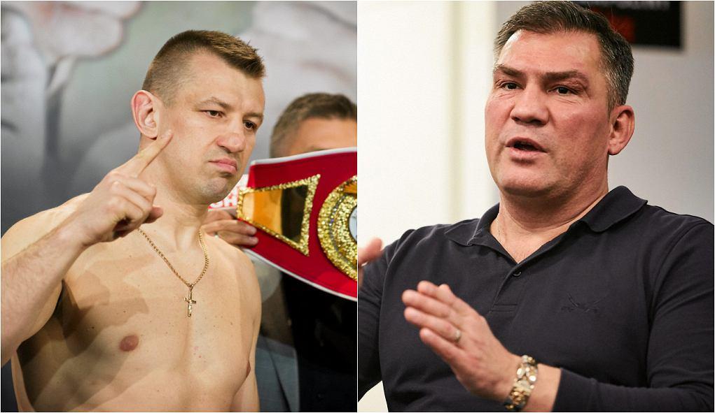Tomasz Adamek i Dariusz Michalczewski