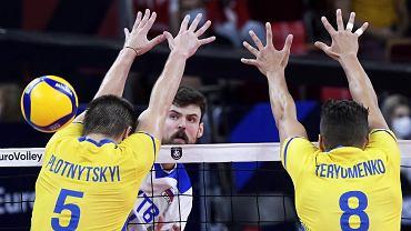 Rosja - Ukraina, mistrzostwa Europy, siatkówka