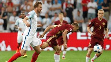 Anglia - Rosja 1:1. Harry Kane i Wasilij Bieriezucki