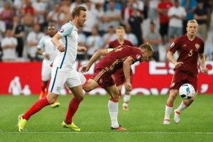 Euro 2016. Anglia - Rosja. Przedziwna sytuacja w Anglii. Harry Kane wykonywał rzuty rożne