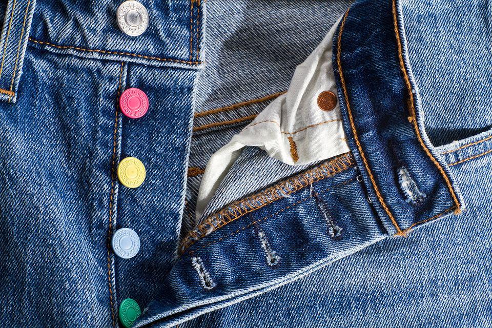 Limitowane spodnie Levi's 501