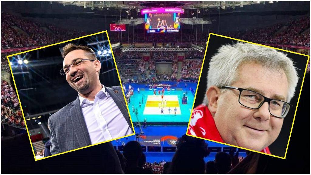 Sebastian Świderski i Ryszard Czarnecki