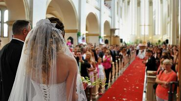 Ślub, zdjęcie ilustracyjne