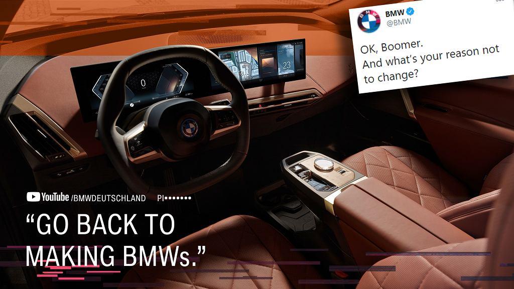 Wnętrze BMW iX