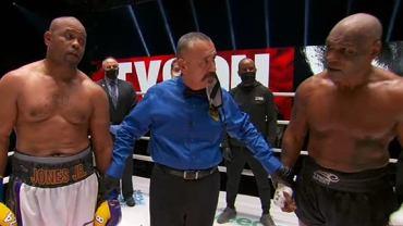 Roy Jones Junior i Mike Tyson