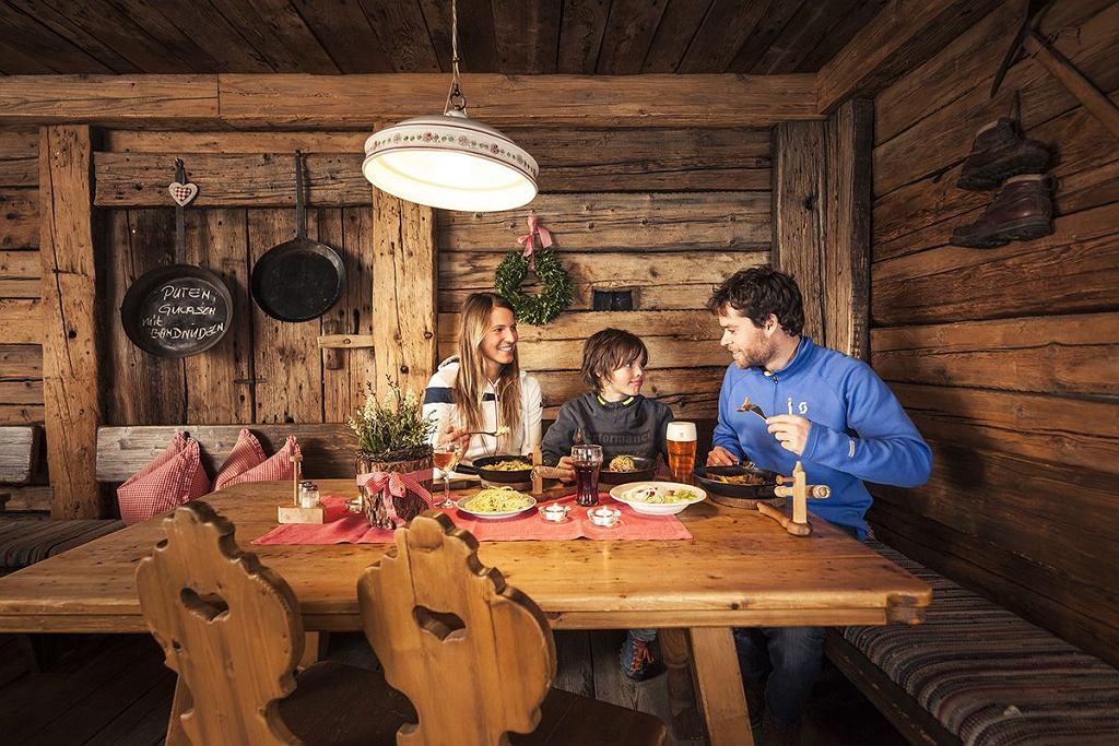 Alpejska kuchnia w Dolinie Stubai
