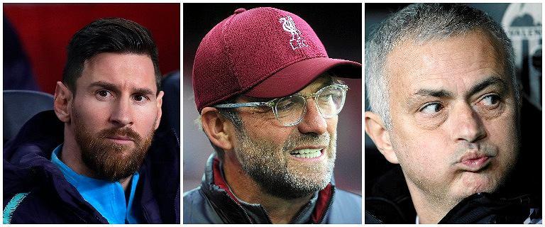 Messi, Klopp i Mourinho mają tego samego faworyta Ligi Mistrzów