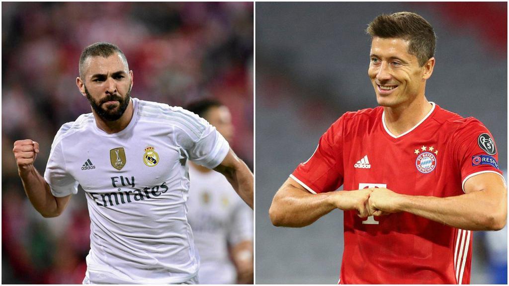 Karim Benzema i Robert Lewandowski