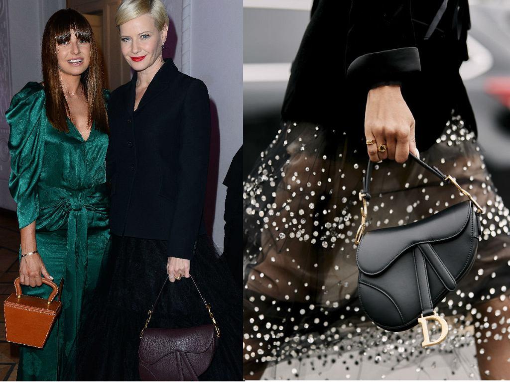 Małgorzata Kożuchowska w Saddle Bag Dior