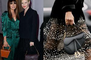 a218fb14aa335 Małgorzata Kożuchowska w stylizacji od Diora. Torebka Saddle Bag to IT BAG  2019 roku