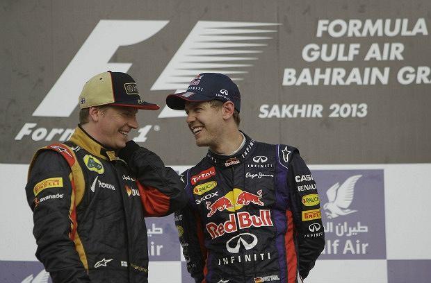 Kimi Raikkonen i Sebastian Vettel