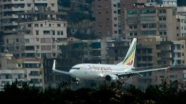 Samolot linii Ethiopia Airlines. Zdjęcie ilustracyjne