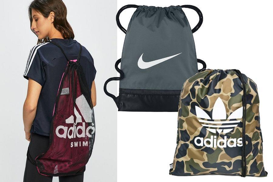 Worek na plecy Nike i Adidas