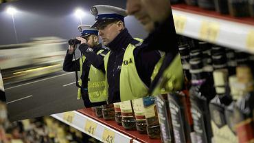 Kontrola policyjna, alkohol