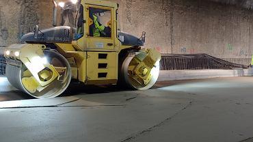 Budowa Południowej Obwodnicy Warszawy - tunel na Ursynowie