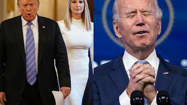 Donald Trump, Ivanka Trump, Joe Biden