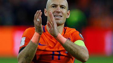 Do sieci trafiło zdjęcie, jak Arjen Robben wraca do domu... na rowerze.