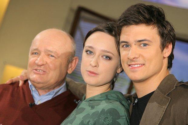 Matylda Damięcka, Mateusz Damięcki, Maciej Damięcki