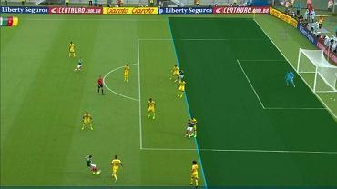 Spalony? Nie! Pomyłka sędziów w meczu Meksyk - Kamerun