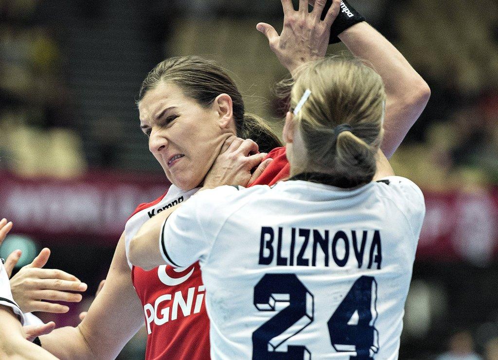 Polska - Rosja 21:20. Karolina Kudłacz-Gloc i Irina Bliznowa