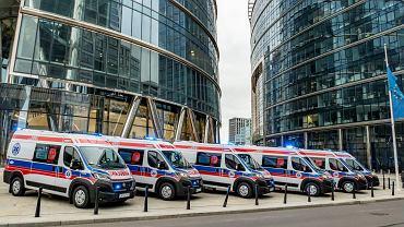 Warszawa. Nowe ambulanse na bazie Fiatów Ducato